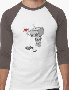 The Lonliest Automaton Men's Baseball ¾ T-Shirt
