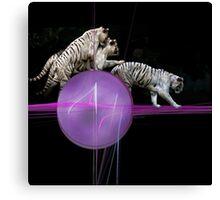 Tiger Tag Canvas Print