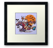 Fink and Loathing Framed Print