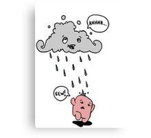Cloud Pee. Canvas Print