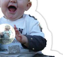 Happy Baby Bubbles Sticker