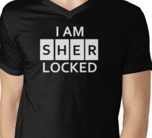 I am Sherlocked Mens V-Neck T-Shirt