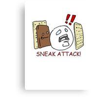 Sneak Attack! Canvas Print