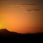 Mt Gillen at Sunset, Alice Springs by Bartt