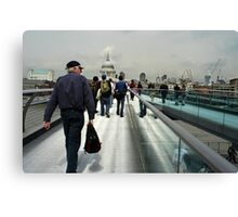 All roads lead to St. Pauls Canvas Print