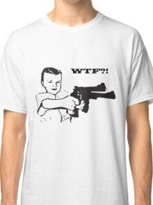 boy with gun Classic T-Shirt