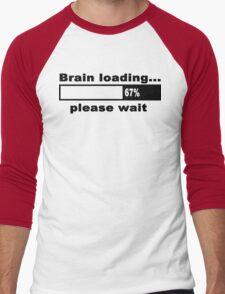 Brain loading plese wait Funny Geek Nerd T-Shirt