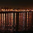 Shore Lights Largs Bay by Jenny Brice