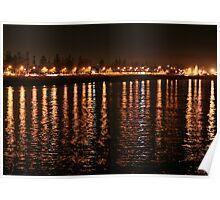 Shore Lights Largs Bay Poster