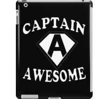 Captain awesome Funny Geek Nerd iPad Case/Skin
