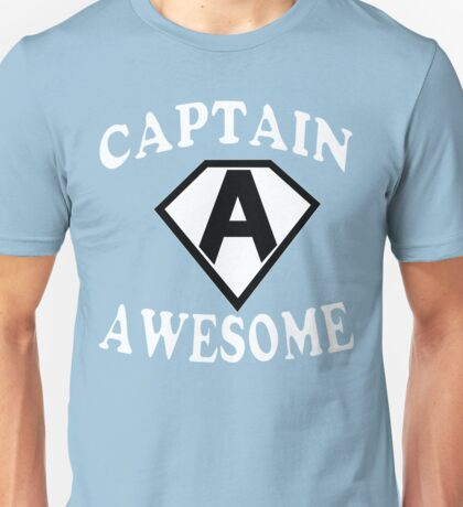Captain awesome Funny Geek Nerd Unisex T-Shirt