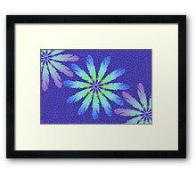 Floral Feathering Framed Print