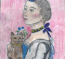 Madame Avec Un Chat. by RobynLee