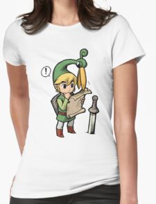 the legend of zelda minish cap Womens Fitted T-Shirt