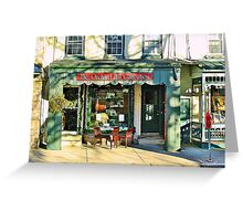 Country Charm  ( Lambertville Village  Storefront ) Greeting Card