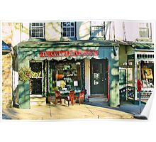 Country Charm  ( Lambertville Village  Storefront ) Poster