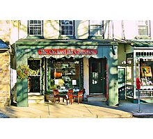 Country Charm  ( Lambertville Village  Storefront ) Photographic Print