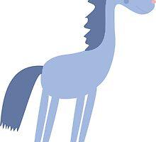 Cartoon horse by Ihatethewinter
