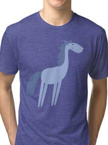 Cartoon horse Tri-blend T-Shirt
