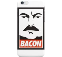Ron Swanson: Bacon iPhone Case/Skin