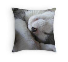 pennycat Throw Pillow