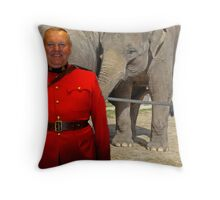 Does This Tickle?? Throw Pillow