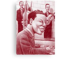 Nat King Cole Trio Canvas Print