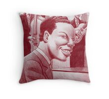 Nat King Cole Trio Throw Pillow