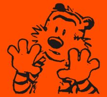 calvin and hobbes: woah now Kids Clothes