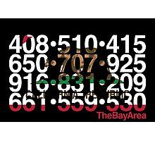Bay Area Codes Photographic Print