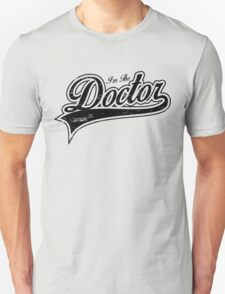 I'm The Doctor_Black Unisex T-Shirt