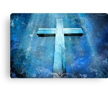 Cross Jesus Canvas Print