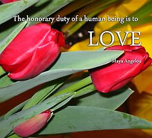 The Honorary Duty...Is Love by Rebecca Bryson
