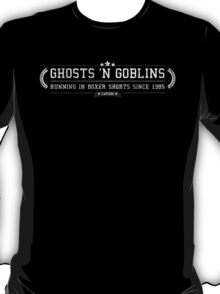 Ghosts 'N Goblins - Retro White Dirty T-Shirt