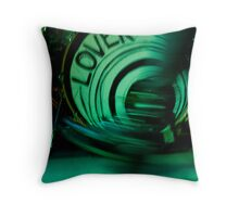 Suede Shoes Throw Pillow