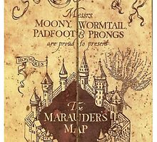 Marauders Map by Princess-Angie