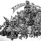 Raj's Imagination by Gene Tamayo