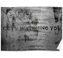 CCTV is watching you! Poster