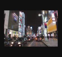 Ginza Streetscape, Chūō, Tokyo Baby Tee