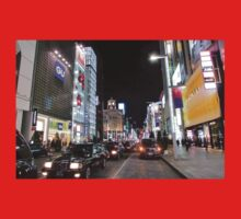 Ginza Streetscape, Chūō, Tokyo One Piece - Short Sleeve