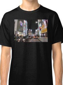 Ginza Streetscape, Chūō, Tokyo Classic T-Shirt