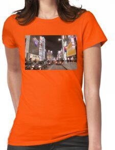 Ginza Streetscape, Chūō, Tokyo Womens Fitted T-Shirt