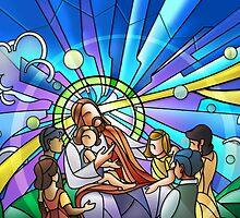 Jesus Suffer the Little Children by Gotcha29