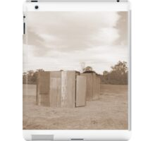 The Outhouse iPad Case/Skin
