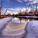 Backwater dry-out. by Steve Chapple