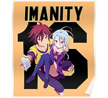 No Game No Life // Imanity 16 Poster