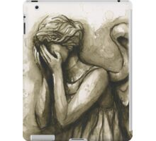 Weeping Angel iPad Case/Skin