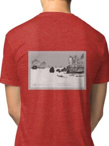 Thailand - the view from Ton Sai beach * Tri-blend T-Shirt