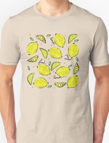 Lemons, Fresh Lemons Unisex T-Shirt