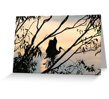 """Home to Roost"" Greeting Card"